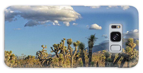 Antelope Valley Joshua Trees 2 Galaxy Case