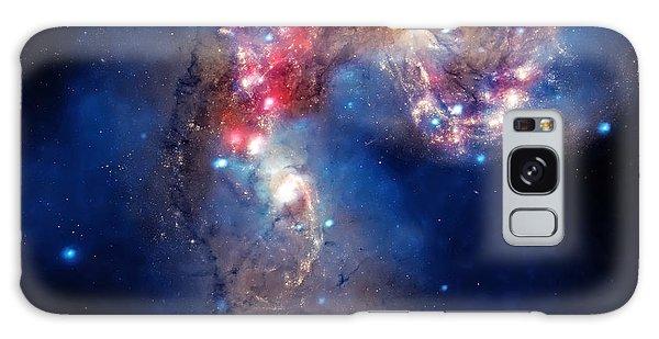 Antennae Galaxies Collide 2 Galaxy Case