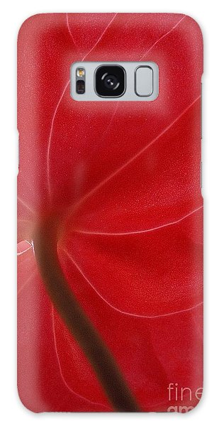 Anthurium Galaxy Case by Ranjini Kandasamy