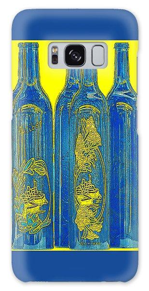 Antibes Blue Bottles Galaxy Case