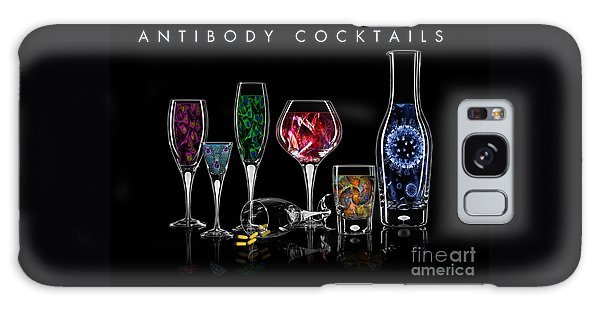 Antibody Cocktails Galaxy Case by Megan Dirsa-DuBois