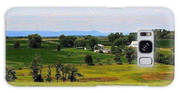 Antietam Battlefield And Mumma Farm Galaxy Case by Patti Whitten