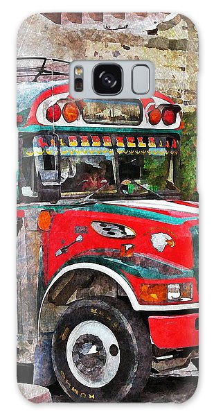 Antigua Bus Stop Galaxy Case