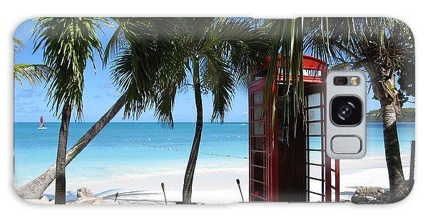 Antigua - Phone Booth Galaxy Case