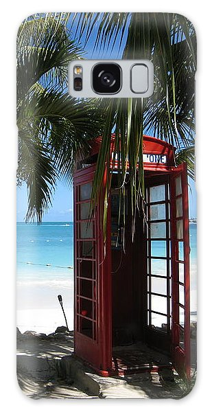Antigua - Phone Booth Galaxy Case