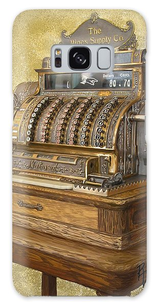 Antique Cash Register Galaxy Case by Ric Darrell