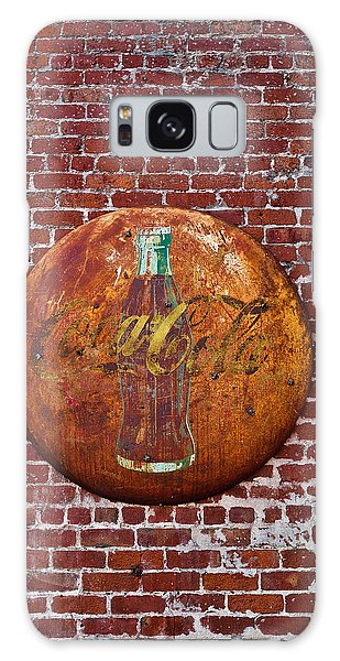 Antique Coke Sign 2 Galaxy Case