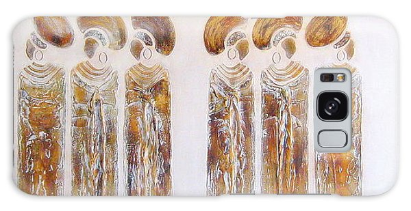 Antique Copper Zulu Ladies - Original Artwork Galaxy Case