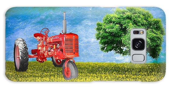 Antique Farmall Tractor Galaxy Case