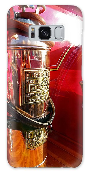 Antique Fire Extinguisher Galaxy Case