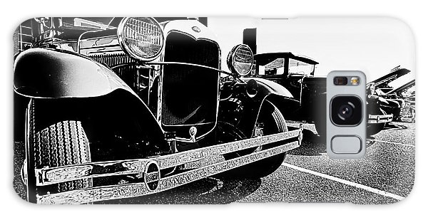 Antique Ford Car At Car Show Galaxy Case