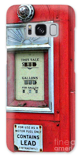 Antique Gas Pump Galaxy Case