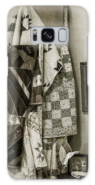 Antique Quilts Galaxy Case by Wayne Meyer