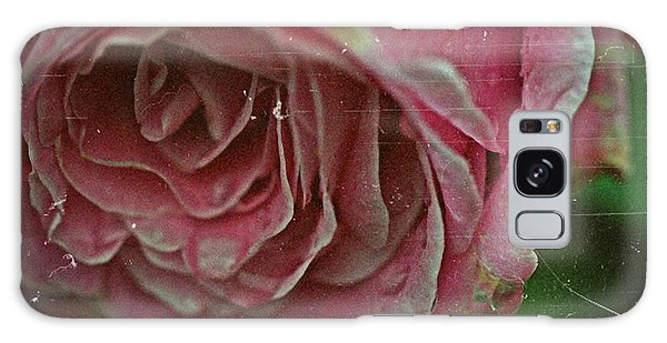 Antique Rose In Fog Galaxy Case