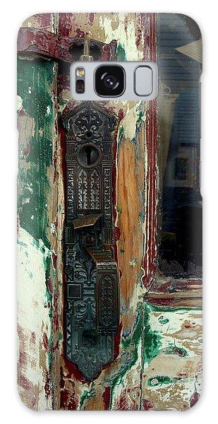 Antique Shop Door Galaxy Case