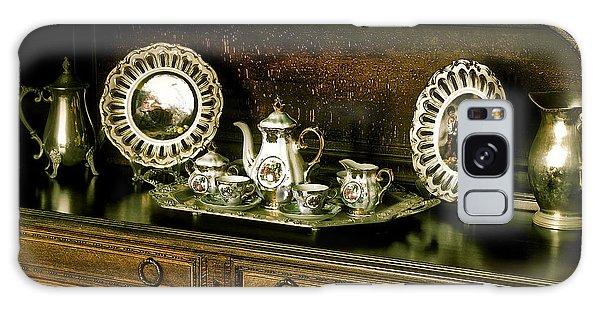 Antique Tea Set Galaxy Case