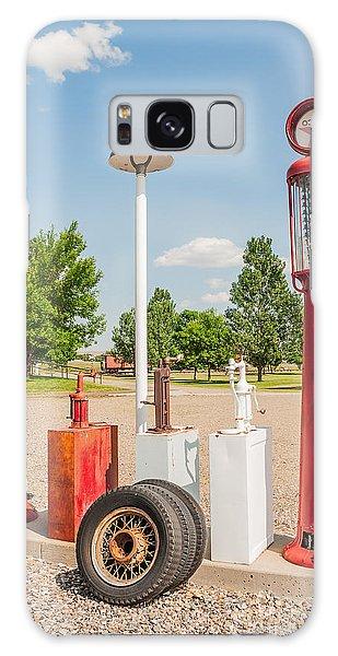 Antique Texaco Pumps Galaxy Case