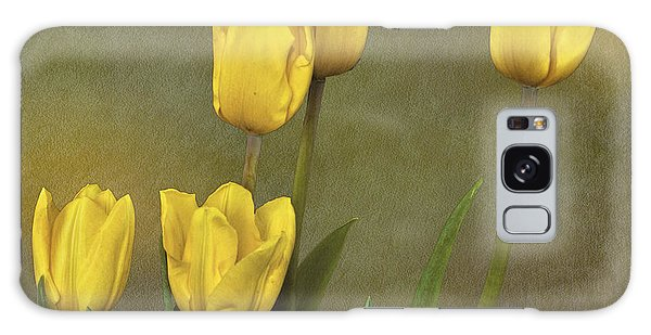 Antique Tulip Bouquet Galaxy Case by Shirley Mangini