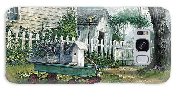 Antique Galaxy Case - Antique Wagon by Michael Humphries
