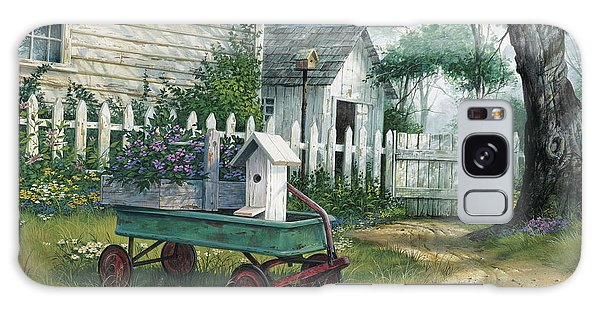 Antique Wagon Galaxy Case by Michael Humphries