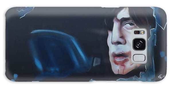 Anton Chigurh No Country For Old Men Galaxy Case by Matt Burke