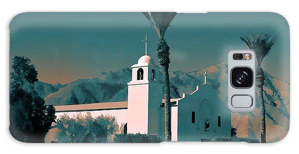Anza Borrego Desert Church Galaxy Case
