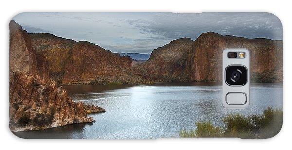 Apache Trail Canyon Lake Galaxy Case by Lee Craig