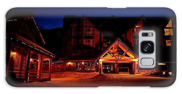 Apex Mountain Ski Village Galaxy Case by Guy Hoffman