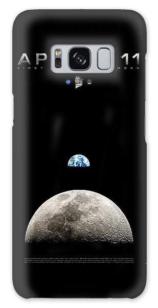 Apollo 11 First Man On The Moon Galaxy Case