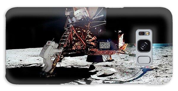 Apollo 11 Moon Landing Galaxy Case
