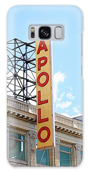 Apollo Theater Sign Galaxy Case by Valentino Visentini