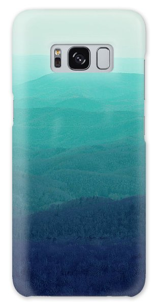 Appalachian Mountains Galaxy Case by Kim Fearheiley
