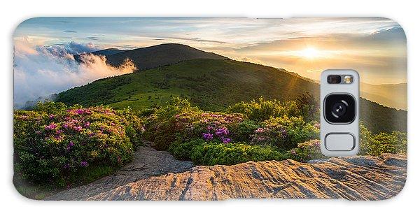 Appalachian Trail Sunset North Carolina Landscape Photography Galaxy Case