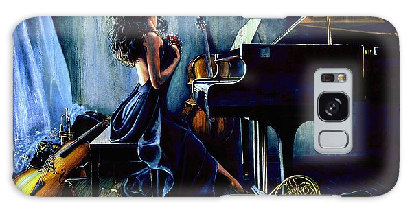 Musical Galaxy Case - Appassionato by Hanne Lore Koehler