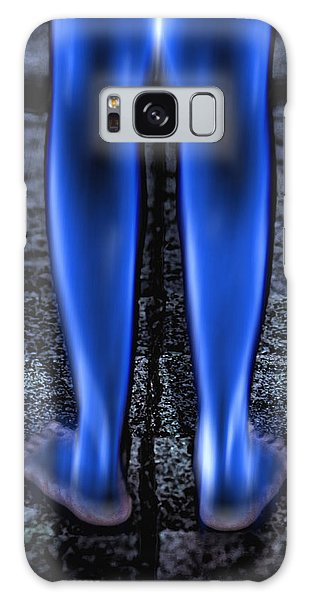 Blue Legs Galaxy Case by Kellice Swaggerty
