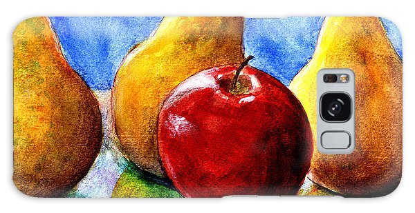 Apple And Three Pears Still Life Galaxy Case