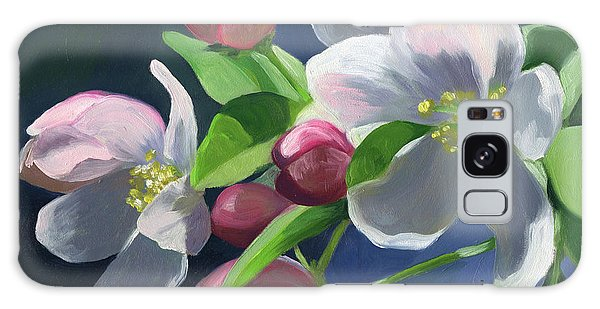 Apple Blossom Galaxy Case