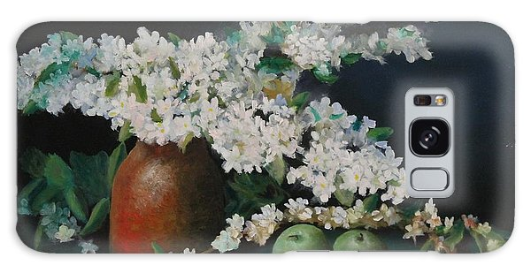 Apple Blossom Time Galaxy Case