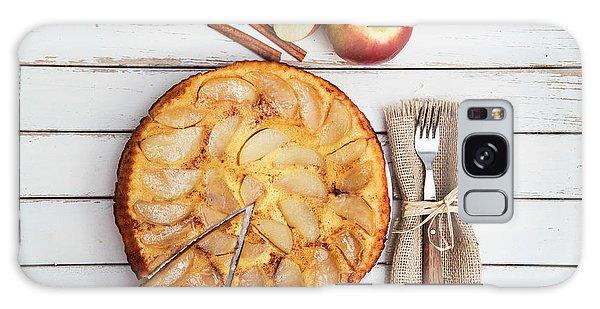 Autumn Galaxy S8 Case - Apple Cake by Viktor Pravdica