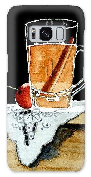 Apple Cinnamon Tea With Mug Galaxy Case