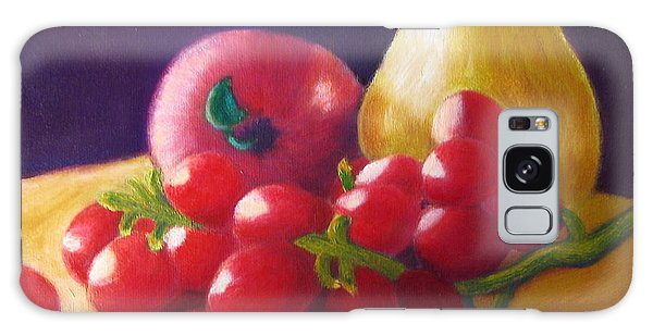 Apple Pear Grapes Galaxy Case
