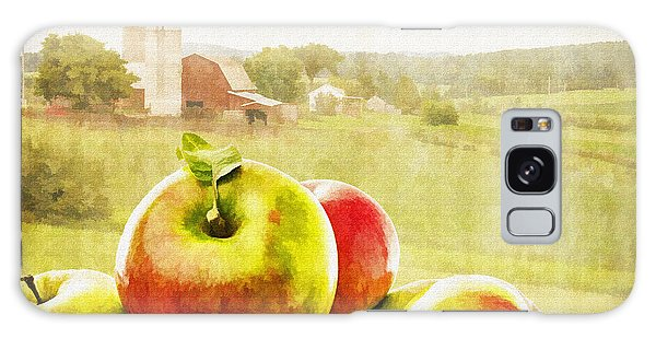 Country Living Galaxy Case - Apple Picking Time by Edward Fielding