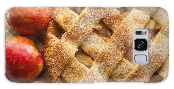 Made Galaxy Case - Apple Pie With Lattice Crust by Diane Diederich