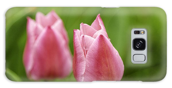 Apple Pink Tulips Galaxy Case