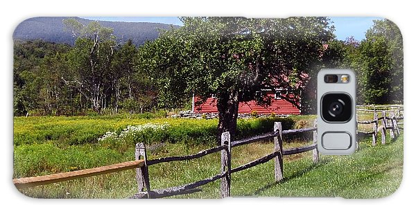 Apple Tree And Barn Galaxy Case