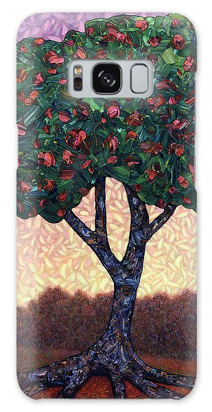 Abstract Landscape Galaxy Case - Apple Tree by James W Johnson