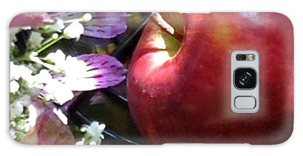 Appleflowers Galaxy Case by Susan Townsend