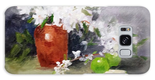 Apples And Blossoms Galaxy Case