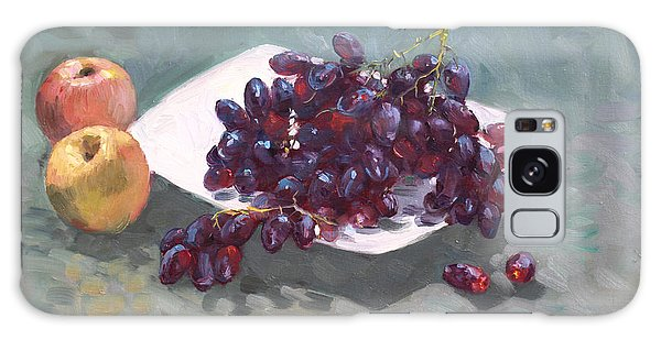 Grape Galaxy Case - Apples And Grapes by Ylli Haruni