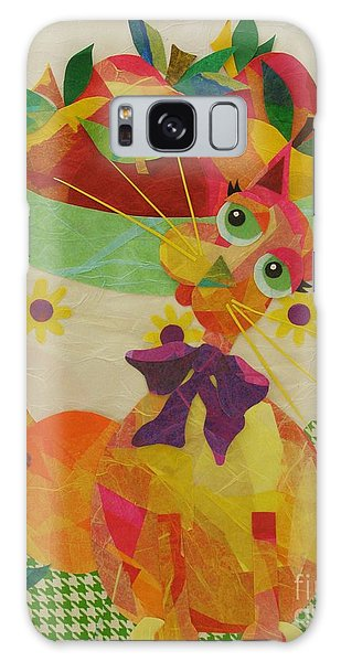 Apples And Jackie Galaxy Case by Diane Miller